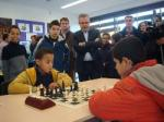 Twenty young people participate in the first Chess Olympiad