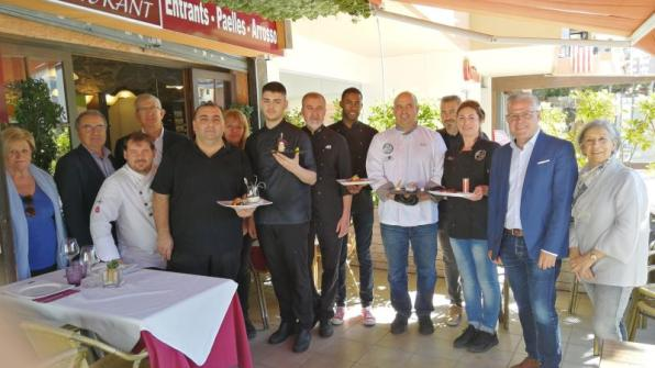 Moment of the presentation of Gastrotour Salou 2019