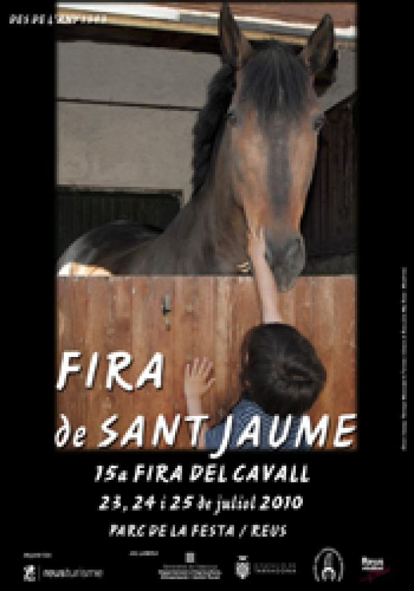 The Feria de Dan Jaume from 23 to 25 July, at the Parc de la Fiesta de Reus