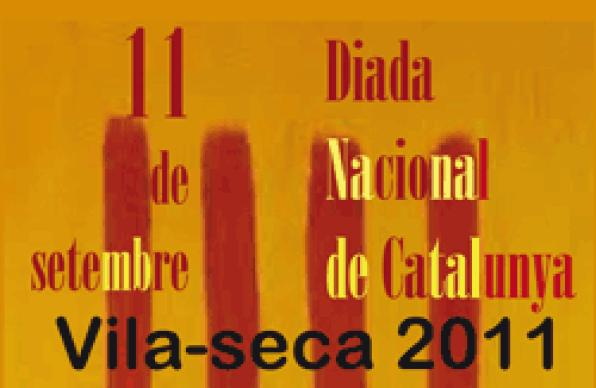 Vilaseca commemorate the National Day of Catalonia