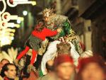 The Three Kings Parade arrive at Costa Dorada