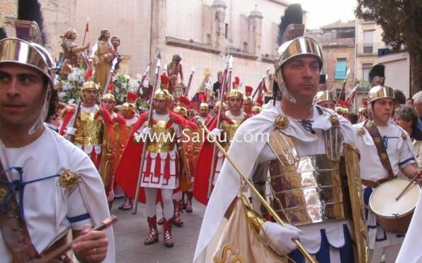 Easter Tarragona. Holy Burial Procession. Friday -3