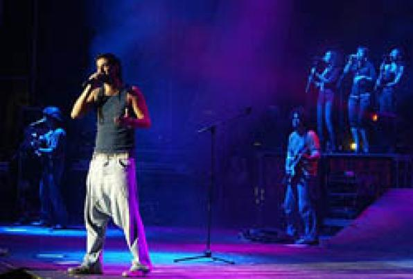 On sale tickets for Carnival Tarragona 2010, with Melendi as prominent artist